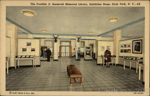 Exhibition Room D : The franklin d roosevelt memorial library exhibition