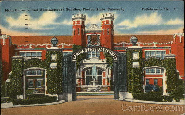 Main Entrance and Administration Building Tallahassee Florida