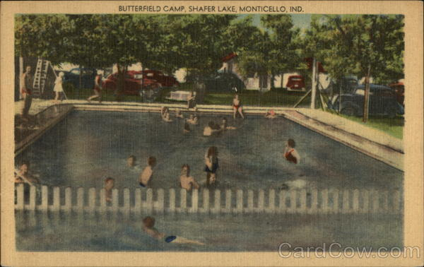 Butterfield Camp, Shafer Lake Monticello Indiana