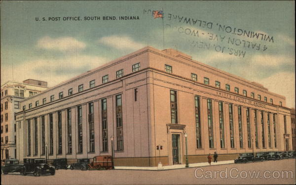 US Post Office South Bend Indiana