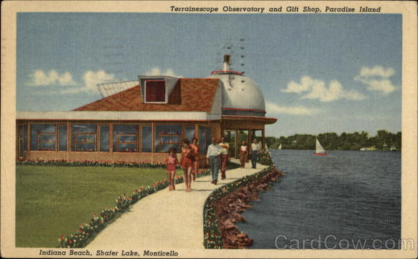 Terrainscope Observatory and Gift Shop Monticello Indiana
