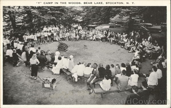 Y Camp in the Woods, Bear Lake Stockton New York