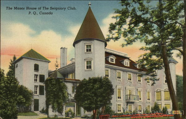 The Manor House of The Seigniory Club Montebello Canada
