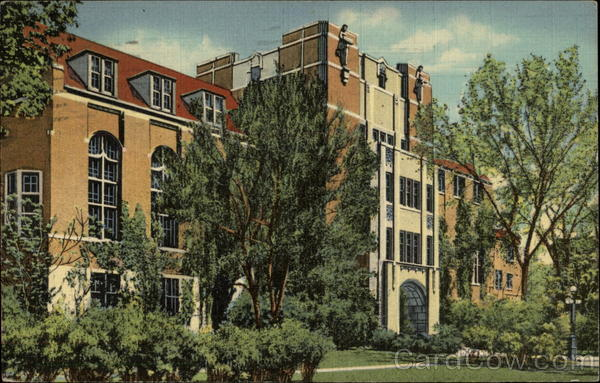 The Michigan League Building of the University of Michigan Ann Arbor