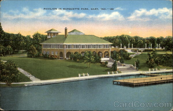 Pavilion in Marquette Park Gary Indiana