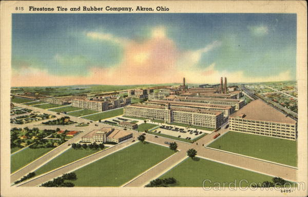 Firestone Tire And Rubber Company Akron Oh