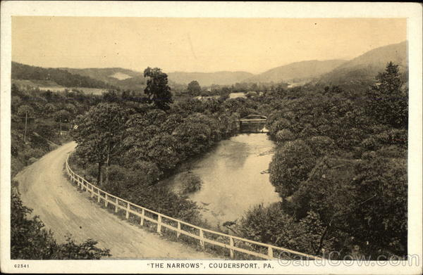 The Narrows Coudersport Pennsylvania