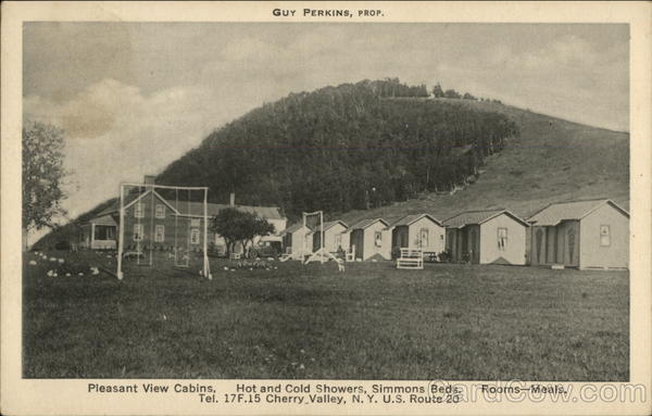 Pleasant View Cabins Cherry Valley New York