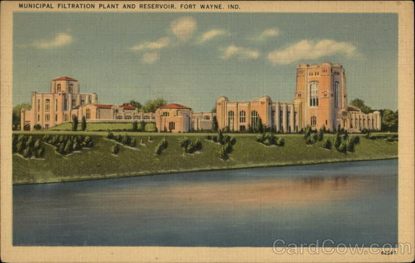 Municipal Filtration Plant and Reservoir Fort Wayne Indiana