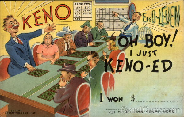 Oh Boy! I just Keno Casinos & Gambling