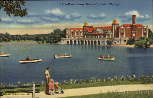 Boat House, Humboldt Park Chicago Illinois