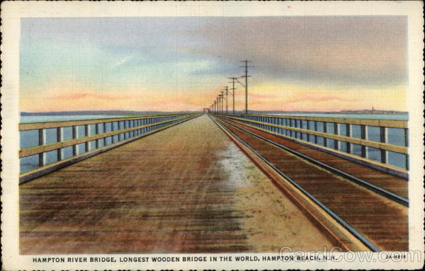 Hampton River Bridge, Hampton Beach, N.H New Hampshire