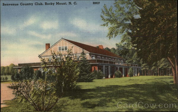 Benvenue Country Club Rocky Mount North Carolina