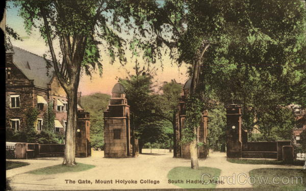The Gate, Mount Holyoke College South Hadley Massachusetts