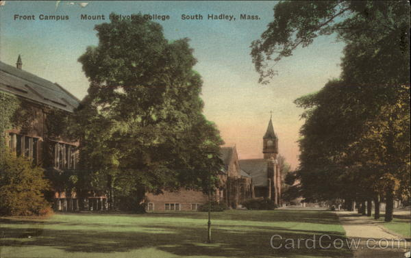 Front Campus, Mount Holyoke College South Hadley Massachusetts