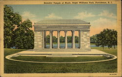 Benedict Temple of Music, Roger Williams Park