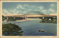 Bourne Bridge over Cape Cod Canal