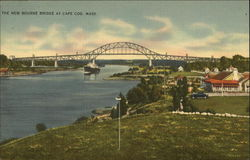 The New Bourne Bridge, Cape Cod