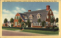 Summer Residence of Joseph C. Lincoln Postcard