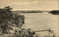 A view of the lake from Camp Farley, Cape Cod