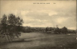 Gold Club, Blue Hill, Maine