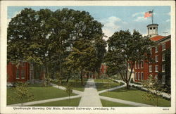 Quadrangle Showing Old Main, Bucknell University