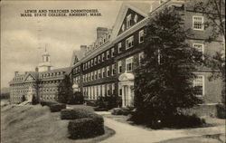 Lewis and Thatcher Dormitories, Mass. State COllege
