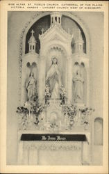 Side Altar, St. Fidelis Church, Cathedral of the Plains
