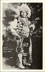 Chief White Cloud, died 1940