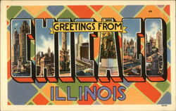 Greetings from Chicago, Illinois Postcard