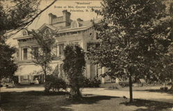 """Westland"", Home of Mrs. Grover Cleveland"