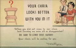 Your Chair Looks Better With You In It
