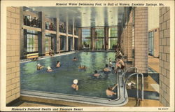 Mineral Water Swimming Pool, in Hall of Eaters