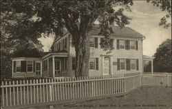 Birthplace of Dwight I. Moody (Feb. 3, 1937)