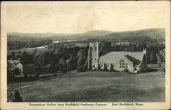 Connecticut Valley from Northfield Seminary Campus