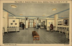 The Franklin D. Roosevelt Memorial Library, Exhibition Room