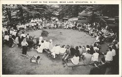 Y Camp in the Woods, Bear Lake