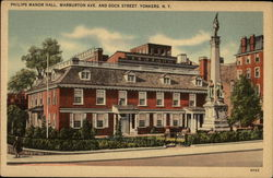 Philips Manor Hall, Warburton Ave. and Dock Street