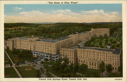 "French Lick Springs Hotel ""The Home of Pluto Water"