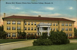 Monroe Hall, Western Illinois State Teachers College Postcard