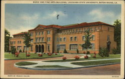 Music and Fine Arts Building, Louisiana State University