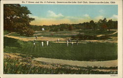 No. 7 Green and No. 8 Fairway, Geneva-on-the-Lake