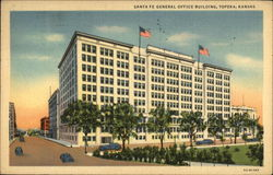 Santa Fe General Office Building, Topeka, Kansas
