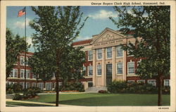 George Rogers Clark High School Postcard
