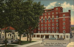 Emery Hotel and Music Stand, Public Square