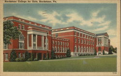 Blackstone College for Girls Postcard