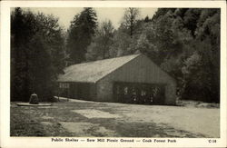Public Shelter, Saw Mill Picnic Ground, Cook Forest Park
