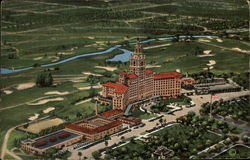 Miami Biltmore HOtel and Golf Course Postcard