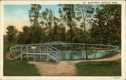 Castalia Blue Hole Postcard