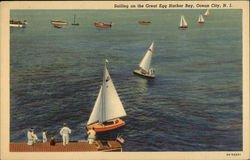 Sailing on the Great Egg Harbor Bay